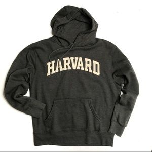 NWOT Harvard University Gray Hoodie Sweatshirt